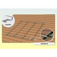 Solar Collector Mounting Kit (3 Collectors) Pitched Roof