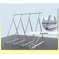 Solar Collector Mounting Kit (1 Collector) Flat-roof